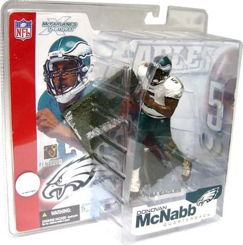 McFarlane Toys NFL Philiadelphia Eagles Sports Picks Series 4 Donovan McNabb Action Figure [White Jersey Variant]