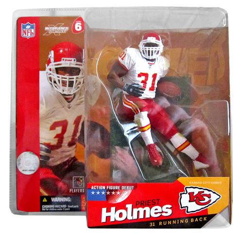McFarlane Toys NFL Kansas City Chiefs Sports Picks Series 6 Priest Holmes Action Figure [White Jersey]