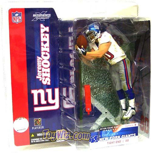 McFarlane Toys NFL New York Giants Sports Picks Series 7 Jeremy Shockey Action Figure [White Jersey Variant]