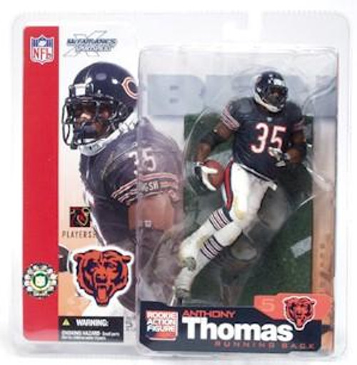 McFarlane Toys NFL Chicago Bears Sports Picks Series 5 Anthony Thomas Action Figure [Blue Jersey]