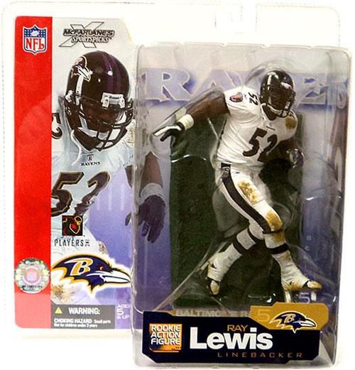 McFarlane Toys NFL Baltimore Ravens Sports Picks Series 5 Ray Lewis Action Figure [White Jersey]