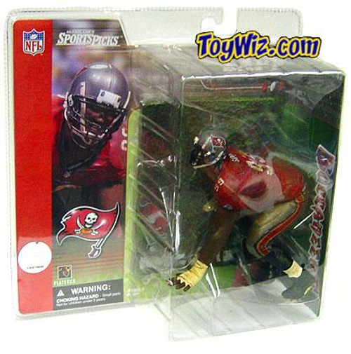 McFarlane Toys NFL Tampa Bay Buccaneers Sports Picks Series 1 Warren Sapp Action Figure [Red Jersey]