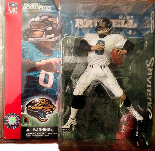 McFarlane Toys NFL Jacksonville Jaguars Sports Picks Series 2 Mark Brunell Action Figure [White Jersey Variant]