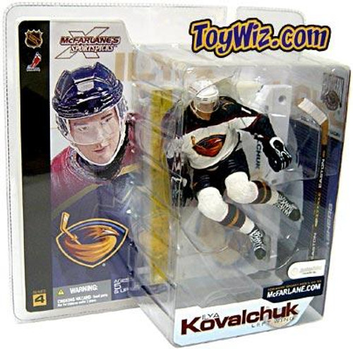 McFarlane Toys NHL Atlanta Thrashers Sports Picks Series 4 Ilya Kovalchuk Action Figure [White Jersey Variant]