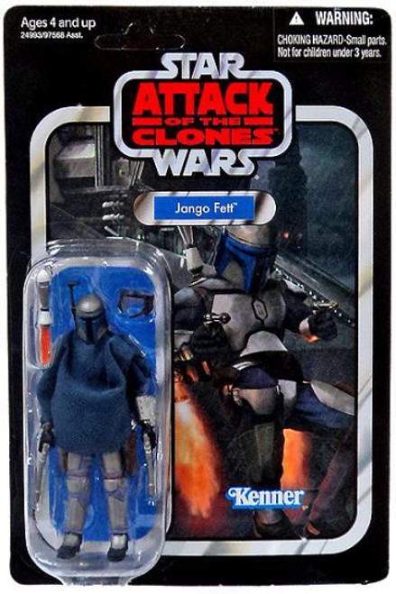 Star Wars Attack of the Clones Vintage Collection 2010 Jango Fett Action Figure #34