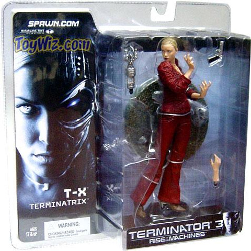 McFarlane Toys The Terminator Terminator 3 Rise of the Machines T-X Terminatrix Action Figure