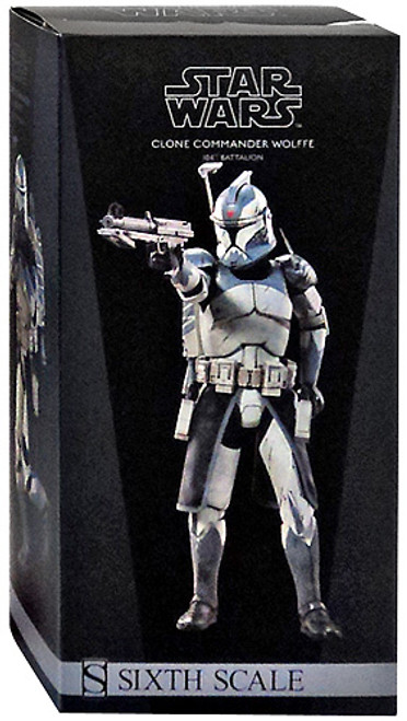 The Clone Wars Militaries of Star Wars Sixth Scale Clone Commander Wolffe 12 Inch Action Figure