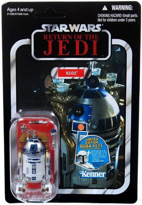 Star Wars Return of the Jedi Vintage Collection 2011 R2-D2 Action Figure #25 [Lightsaber & Drink Tray]