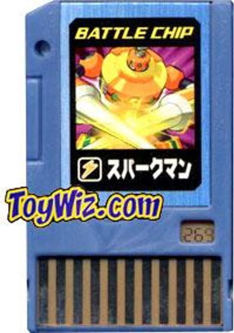 Capcom Mega Man Japanese PET SparkMan Battle Chip #269
