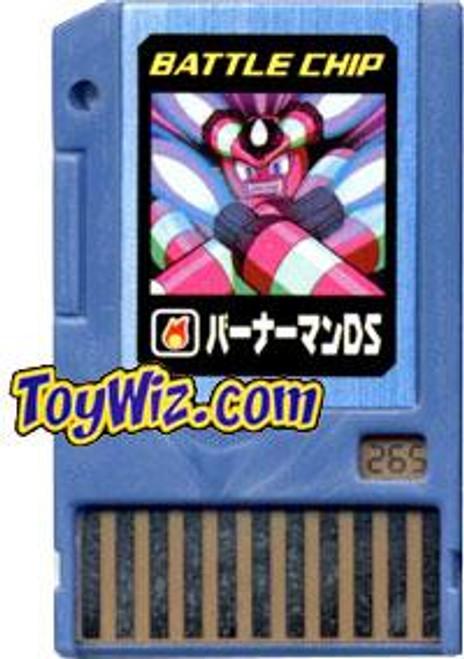 Capcom Mega Man Japanese PET BurnerMan DS Battle Chip #265
