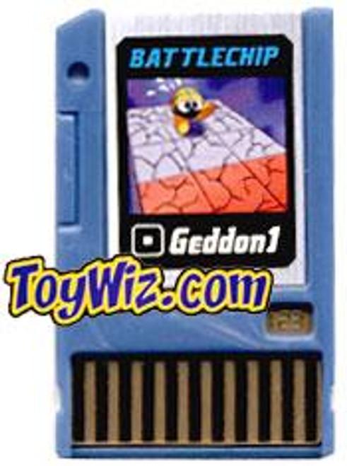 Mega Man Geddon 1 Battle Chip #123