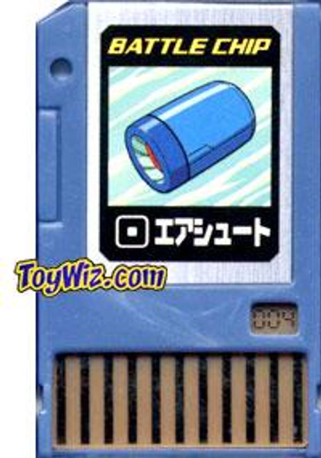 Capcom Mega Man Japanese PET Air Shot Battle Chip #004