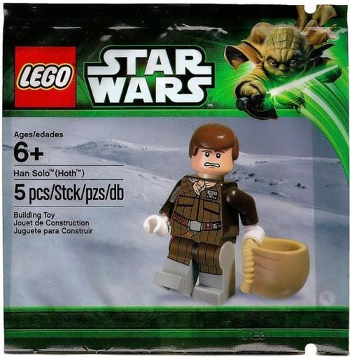 LEGO Star Wars The Empire Strikes Back Han Solo (Hoth) Exclusive Mini Set #5001621 [Bagged]