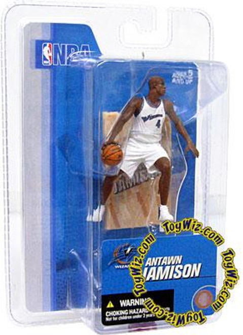 McFarlane Toys NBA Washington Wizards Sports Picks 3 Inch Mini Series 3 Antawn Jamison Mini Figure