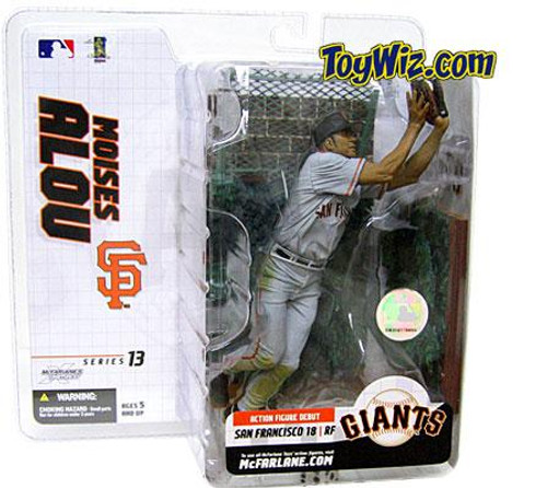 McFarlane Toys MLB San Francisco Giants Sports Picks Series 13 Extended Moises Alou Action Figure [Gray Jersey]