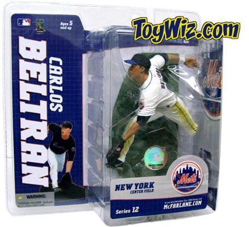 McFarlane Toys MLB New York Mets Sports Picks Series 12 Carlos Beltran Action Figure [White Jersey Variant]