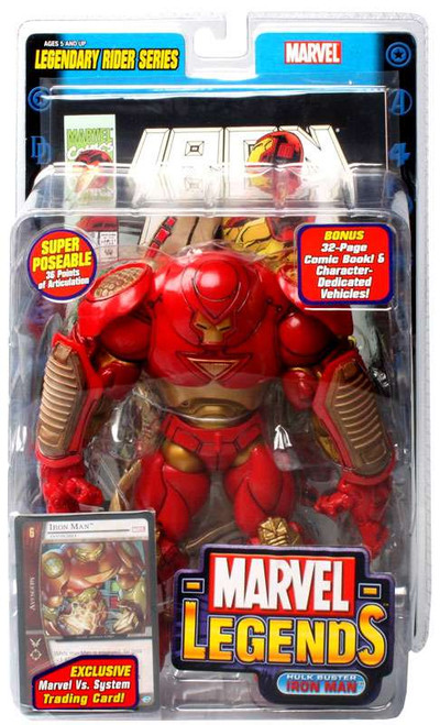 Marvel Legends Series 11 Legendary Riders Hulk Buster Iron Man Action Figure