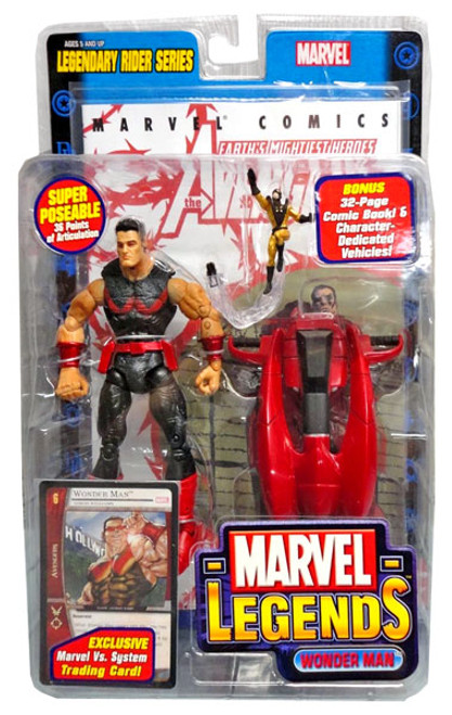 Marvel Legends Series 11 Legendary Riders Wonder Man Action Figure