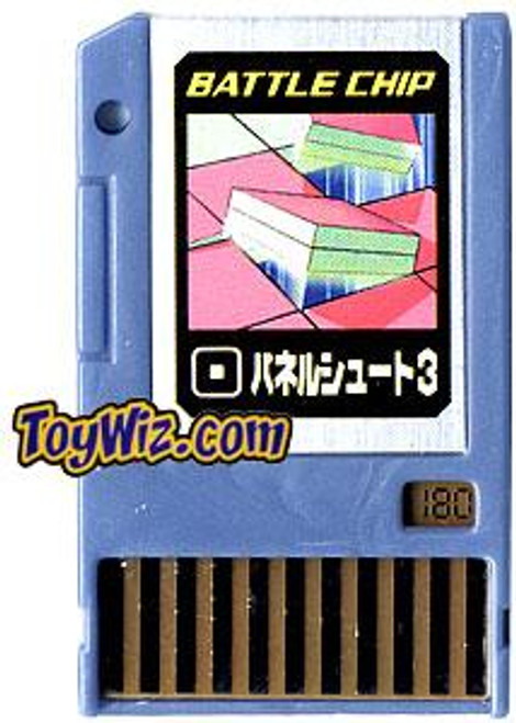Capcom Mega Man Japanese PET Panel Shoot 3 Battle Chip #180