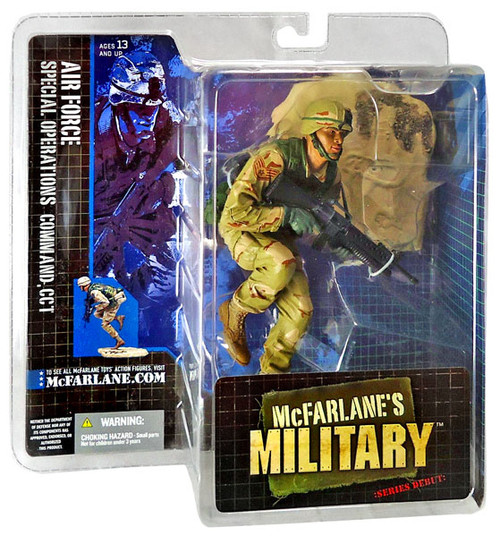 McFarlane Toys McFarlane's Military Series 1 Air Force Special Operations Command, CCT Action Figure [Random Ethnicity]