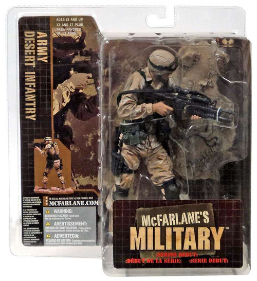 McFarlane Toys McFarlane's Military Series 1 Army Desert Infantry Action Figure [Caucasian]