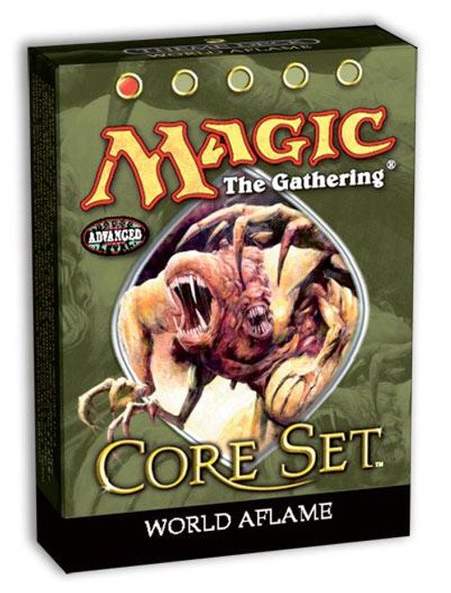 MtG 9th Edition World Aflame Theme Deck [Sealed Deck]