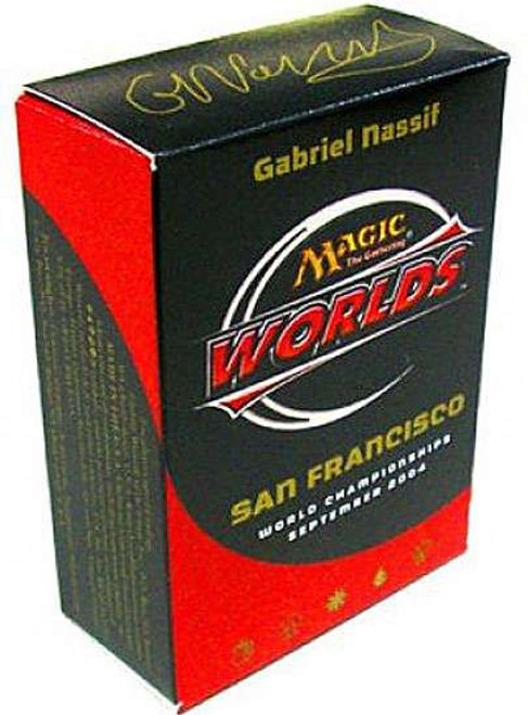 MtG 2004 World Championship Gabriel Nassif Championship Deck [Sealed]