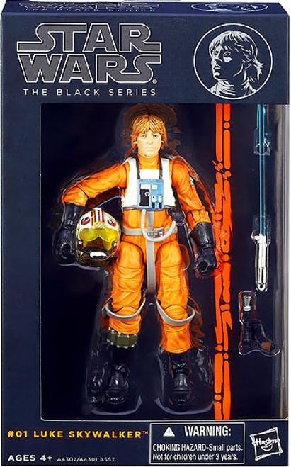 Star Wars A New Hope Black Series Wave 1 Luke Skywalker Action Figure #01 [X-Wing Pilot]