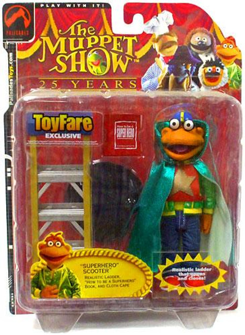 The Muppets The Muppet Show Scooter Exclusive Action Figure [Superhero]