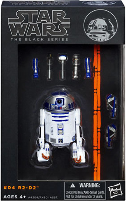 Star Wars A New Hope Black Series Wave 1 R2-D2 Action Figure #04