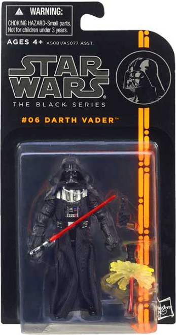 Star Wars The Empire Strikes Back Black Series Wave 1 Darth Vader Action Figure #06