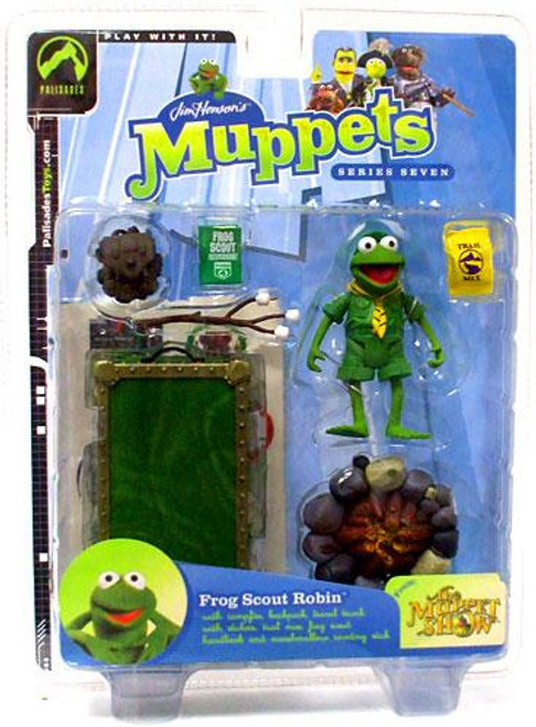 The Muppets The Muppet Show Series 7 Robin Action Figure [Frog Scout]