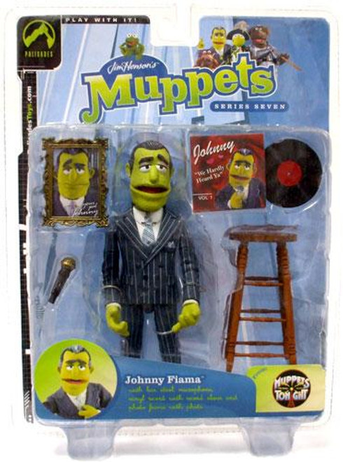 The Muppets Muppets Tonight Series 7 Johnny Fiama Action Figure [Pinstripe Suit]