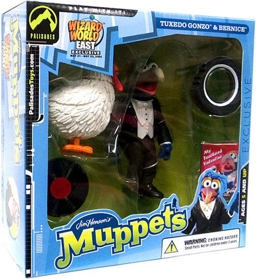 The Muppets Gonzo Exclusive Action Figure [Tuxedo, With Bernice]