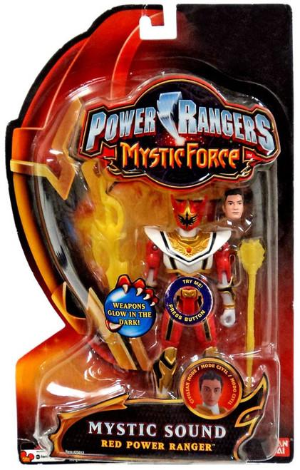 Power Rangers Mystic Force Mystic Sound Red Power Ranger Action Figure