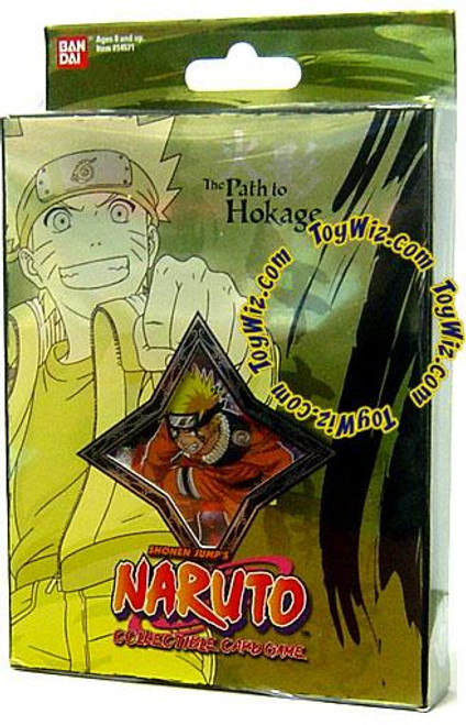 Card Game The Path to Hokage Naruto Theme Deck [Green]
