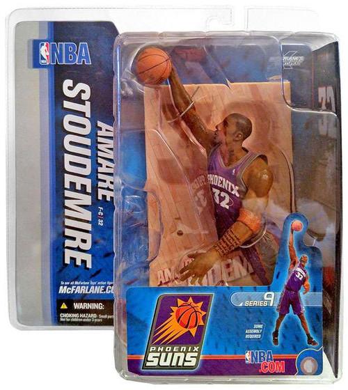 McFarlane Toys NBA Phoenix Suns Sports Picks Series 9 Amare Stoudamire Action Figure [Purple Jersey]