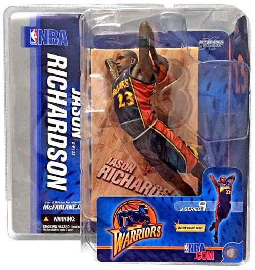McFarlane Toys NBA Golden State Warriors Sports Picks Series 9 Jason Richardson Action Figure [Blue Jersey]