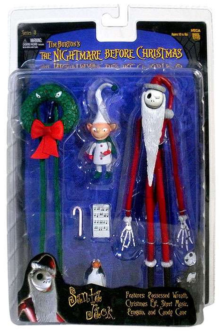 NECA The Nightmare Before Christmas Series 3 Santa Jack Action Figure