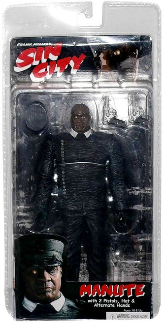 NECA Sin City Series 1 Manute Action Figure [Color Variant]