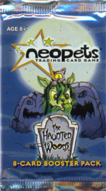 Neopets Trading Card Game The Haunted Woods Booster Pack