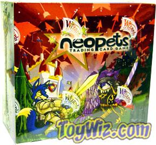 Neopets Trading Card Game Battle for Meridell Booster Box
