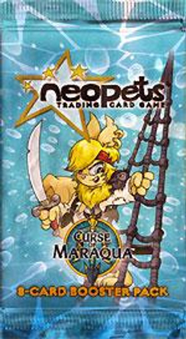 Neopets Trading Card Game Curse of Maraqua Booster Pack