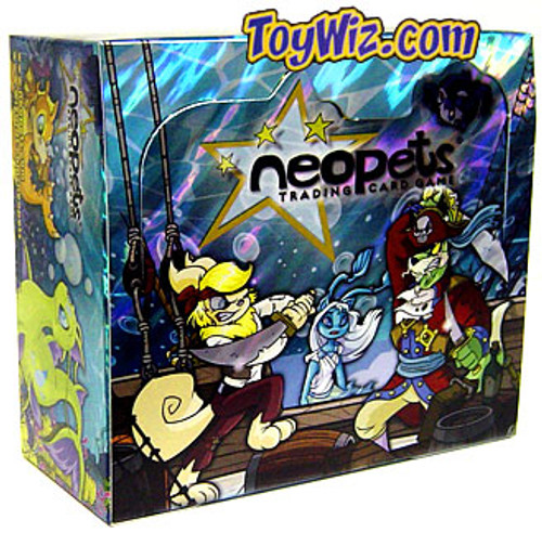 Neopets Trading Card Game Curse of Maraqua Booster Box