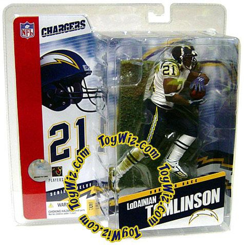 McFarlane Toys NFL San Diego Chargers Sports Picks Series 12 LaDainian Tomlinson Action Figure