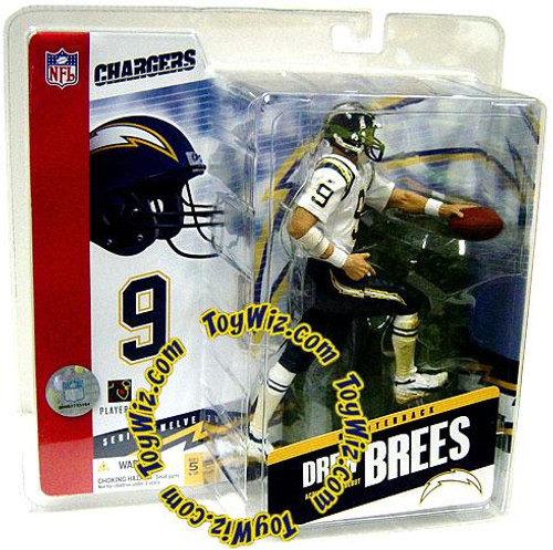 McFarlane Toys NFL San Diego Chargers Sports Picks Series 12 Drew Brees Action Figure