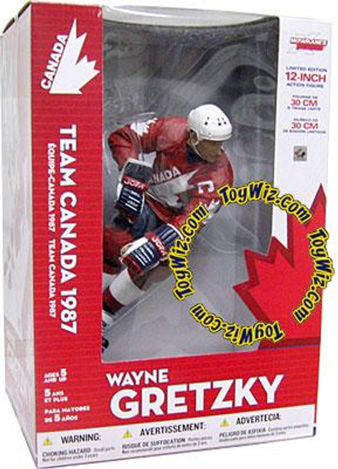 McFarlane Toys NHL 1987 Team Canada Sports Picks 12 Inch Deluxe Wayne Gretzky Action Figure [Team Canada]