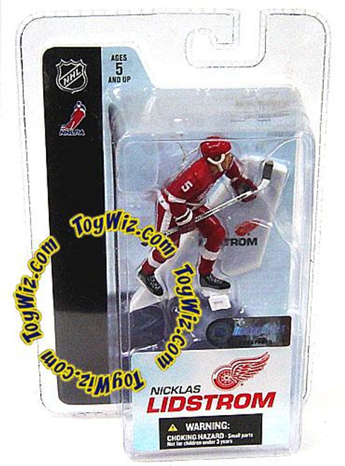 McFarlane Toys NHL Detroit Red Wings Sports Picks 3 Inch Mini Series 3 Nicklas Lidstrom Mini Figure