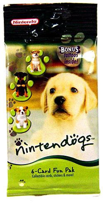 Nintendogs Trading Card Pack