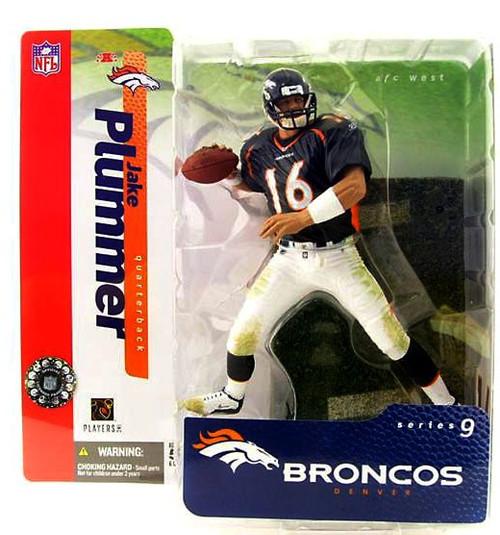 McFarlane Toys NFL Denver Broncos Sports Picks Series 9 Jake Plummer Action Figure [Blue Jersey]
